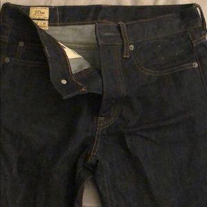 J. Crew Men's Straight 770 30 x 32 Jeans